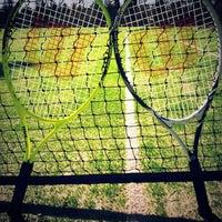Photo taken at Tenis Kortu by Mustafa D. on 2/1/2014