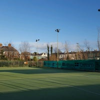Photo taken at Bective Tennis by Iarla B. on 1/13/2017