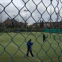 Photo taken at Bective Tennis by Iarla B. on 2/26/2017