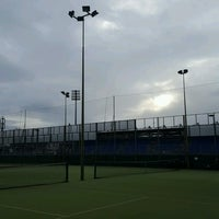 Photo taken at Bective Tennis by Iarla B. on 1/6/2017