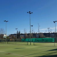 Photo taken at Bective Tennis by Iarla B. on 2/5/2017