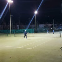 Photo taken at Bective Tennis by Iarla B. on 12/20/2016