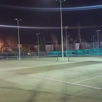 Photo taken at Bective Tennis by Iarla B. on 1/10/2017