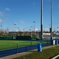 Photo taken at Bective Tennis by Iarla B. on 1/1/2017