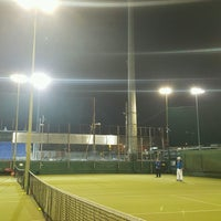Photo taken at Bective Tennis by Iarla B. on 2/1/2017