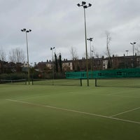 Photo taken at Bective Tennis by Iarla B. on 1/15/2017