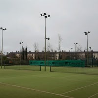 Photo taken at Bective Tennis by Iarla B. on 1/17/2017