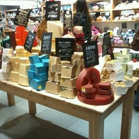 Photo taken at LUSH by Esther V. on 12/12/2013