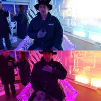 Photo taken at minis 5° ice bar by Christian C. on 4/24/2016