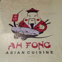 Photo taken at Ah Fong Asian Cuisine by RUBZONLINE on 10/9/2014