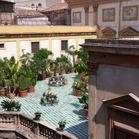 Photo taken at Palazzo Valguarnera-Gangi by Alessandro R. on 8/26/2013