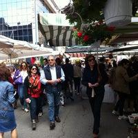 Photo taken at Mercato di via Fauche by Morea V. on 5/11/2013