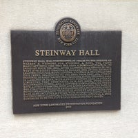 Photo taken at Steinway Hall by Edwin M. on 5/6/2013