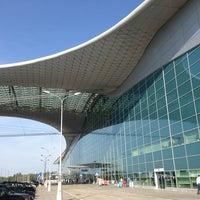 Photo taken at Terminal D by Dan U. on 7/13/2013