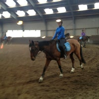 Photo taken at Manege de Vosseburch by Ronald on 3/30/2013