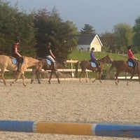 Photo taken at Manege de Vosseburch by Ronald on 5/28/2013
