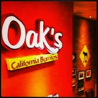 Photo taken at Oak's California Burritos by Rafael C. on 1/14/2013