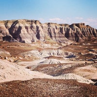 Photo taken at Painted Desert by Kate K. on 6/8/2013