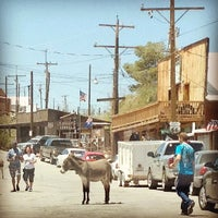 Photo taken at Oatman, AZ by Kate K. on 6/8/2013