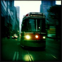 Photo taken at TTC Streetcar #504 King St by Perlorian B. on 5/24/2013