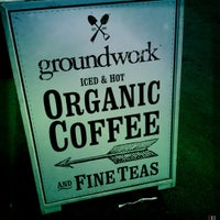Photo taken at Groundwork Coffee by Perlorian B. on 12/9/2012