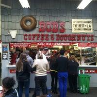 Photo taken at Bob's Coffee & Doughnuts by Perlorian B. on 1/12/2013