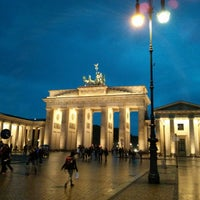 Photo taken at Brandenburg Gate by Ralf K. on 5/29/2013