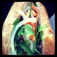 Photo taken at Bánh Mì Ba Le by Murali K. on 2/13/2013