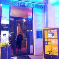 Photo taken at Restaurant & Café Luchs by Sebastian K. on 11/15/2012