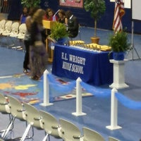 Photo taken at E. L. Wright Middle School by Subdued S. on 6/6/2013