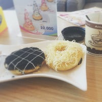 Photo taken at Moko Donuts and coffee by ♔Putri♔ A. on 6/2/2015