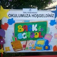 Photo taken at Yıldız Koleji by Vedat S. on 9/15/2014