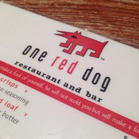 Photo taken at One Red Dog by Bodie F. on 3/28/2014