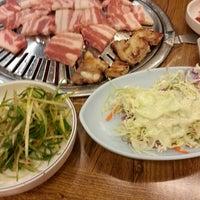 Photo taken at 마포숯불갈비 by 종범 최. on 12/20/2013