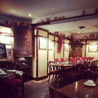 Photo taken at The Greyhound Coaching Inn and Hotel by Tiago R. on 2/26/2013