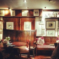 Photo taken at The Greyhound Coaching Inn and Hotel by Tiago R. on 2/25/2013