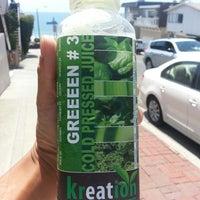 Photo taken at Kreation Juicery by John W. on 7/4/2013
