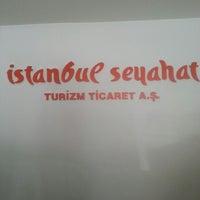 Photo taken at stt travel Bağlarbaşı by Buket Y. on 3/15/2014