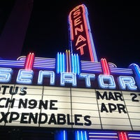 Photo taken at Senator  Theater by tony r. on 3/28/2013