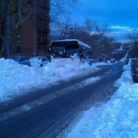 Photo taken at Snowpocalypse 2010 - NY by Andrea M. on 12/29/2010