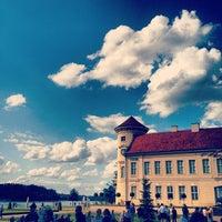 Photo taken at Schloss Rheinsberg by elster e. on 5/27/2012