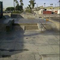 Photo taken at Joseph Randal Skate Park by John J. on 1/24/2012