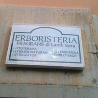 Photo taken at Erboristeria Fragrans Di Landi Sara by Carlo S. on 10/30/2011