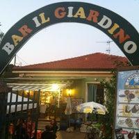 Photo taken at Bar Il Giardino by Valentina Tatè on 9/8/2012