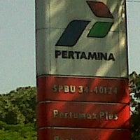 Photo taken at SPBU 34.401.24 by Bambang P. on 9/22/2011