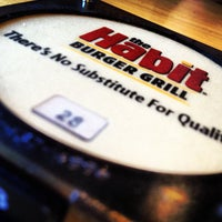 Photo taken at The Habit Burger Grill by Mark V. on 8/12/2012