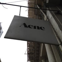 Photo taken at Acne Studios by nika on 4/23/2012