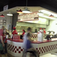 Photo taken at Five Guys by Hollister L. on 3/16/2012