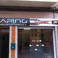 Photo taken at Vapingshop by Carlos S. on 5/1/2013