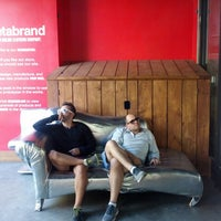 Photo taken at Betabrand Intergalactic Headquarters by Jon R. on 9/28/2013
